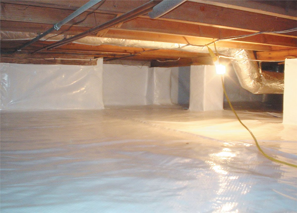 How Do Crawlspace Moisture Barriers Help Protect Your Crawlspace?